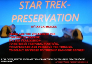 Star Trek Preservation poster 50th anniversary 2016